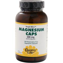 COUNTRY LIFE Target-Mins - Magnesium Caps with Silica 120 vcaps