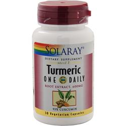 SOLARAY Turmeric - One Daily 30 vcaps