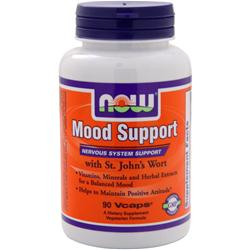 NOW Mood Support with St. John's Wort 90 vcaps