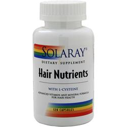 SOLARAY Hair Nutrients 120 caps