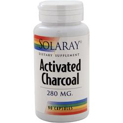 SOLARAY Activated Charcoal (280mg) 90 caps