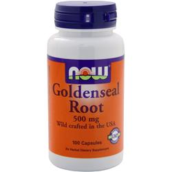 NOW Goldenseal Root (500mg) 100 caps