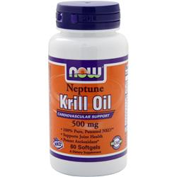 NOW Neptune Krill Oil (500mg) 60 sgels