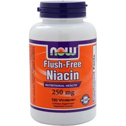 Now Flush-Free Niacin (250mg) 180 vcaps