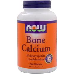 NOW Bone Calcium 240 tabs