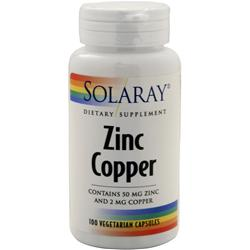 SOLARAY Zinc Copper 100 vcaps