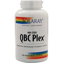 Solaray QBC Plex (non-citrus) 120 vcaps
