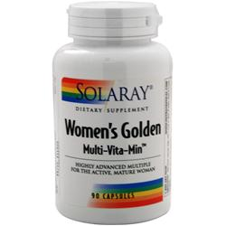 SOLARAY Women's Golden Multi-Vita-Min 90 caps