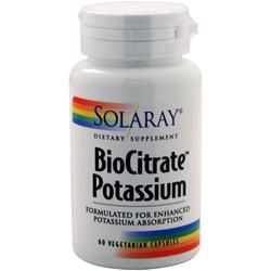 Solaray BioCitrate Potassium 60 vcaps