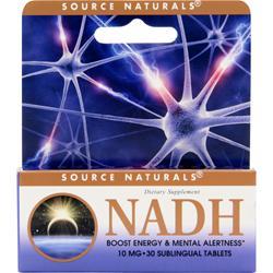 SOURCE NATURALS NADH (10mg) 30 tabs