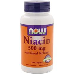 NOW Niacin (500mg) - Sustained Release 100 tabs