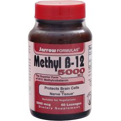 JARROW Methyl B-12 (5000mcg) 60 lzngs