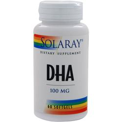 SOLARAY DHA Neuromins (100mg) 60 sgels
