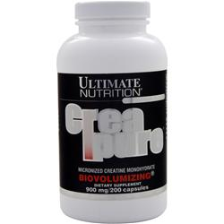 ULTIMATE NUTRITION Creatine Monohydrate (900mg) 200 caps