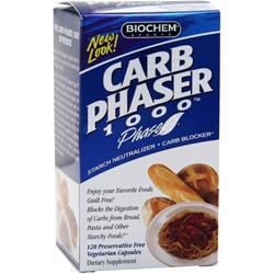 BIOCHEM Carb Phaser 1000 120 vcaps