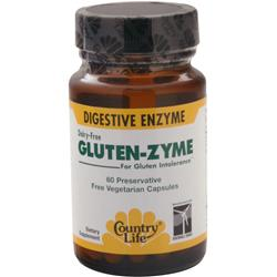 COUNTRY LIFE Gluten-Zyme 60 vcaps