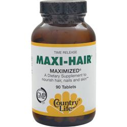 COUNTRY LIFE Maxi-Hair 90 tabs