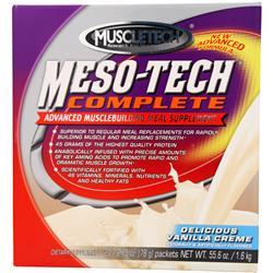 MUSCLETECH Meso-Tech Complete Vanilla Creme 20 pckts