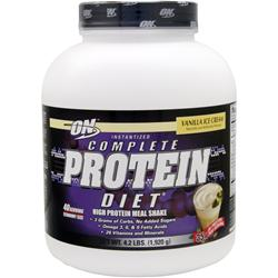 Optimum Nutrition Complete Protein Diet Vanilla Ice Cream 4.2 lbs