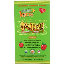 ORGANIC FOOD BAR Kids Bar - Oooatmeal! Apple Pie = 10 bars