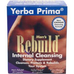 Yerba Prima Men's Rebuild Internal Cleansing 300 caps