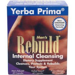 Yerba Prima Men's Rebuild Internal Cleansing 300 caps