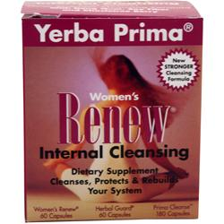YERBA PRIMA Women's Renew Internal Cleansing 300 caps