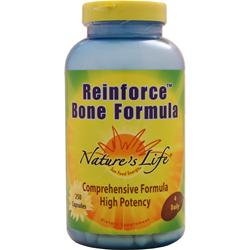 Nature's Life Reinforce Bone Formula 250 caps