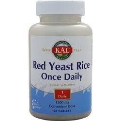 KAL Red Yeast Rice (1200mg) 60 tabs