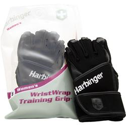HARBINGER Women's WristWrap Training Grip Glove (L) 2 glove