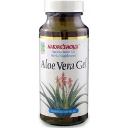 NATURE'S HERBS Aloe Vera Gel 50 caps