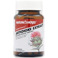 Nature's Herbs Artichoke Extract 60 caps