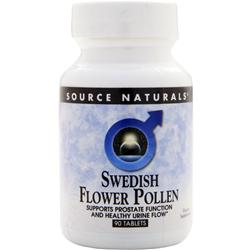 SOURCE NATURALS Swedish Flower Pollen 90 tabs