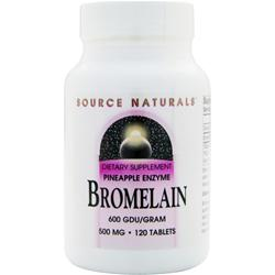 SOURCE NATURALS Bromelain (500mg) 120 tabs
