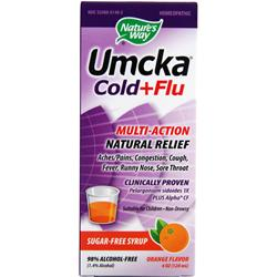 NATURE'S WAY Umcka Cold & Flu Orange 4 fl.oz