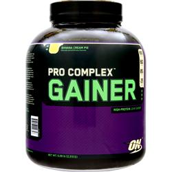 OPTIMUM NUTRITION Pro Complex Gainer Banana Cream Pie 5.08 lbs