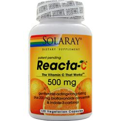 Solaray Reacta-C (500 mg) with Bioflavonoids 120 vcaps