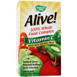 NATURE'S WAY Alive Vitamin C 120 vcaps