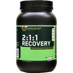 Optimum Nutrition 2:1:1 Recovery Chocolate 3.73 lbs