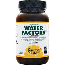 COUNTRY LIFE Water Factors 90 tabs