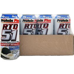 MET-RX RTD 51 Cookies & Cream 12 cans