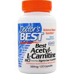DOCTOR'S BEST Best Acetyl-L-Carnitine(588mg) 120 caps