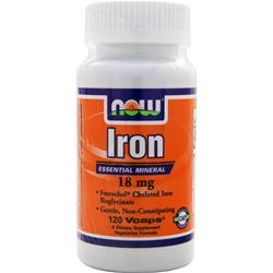 NOW Iron (18mg) 120 vcaps