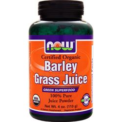 Now Barley Grass Juice 4 oz
