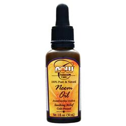NOW 100% Pure Neem Oil 1 fl.oz