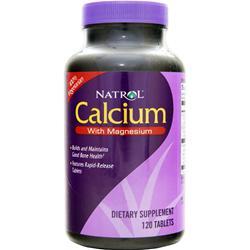 Natrol Calcium with Magnesium 120 tabs