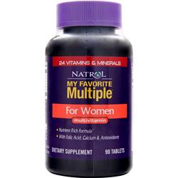 NATROL My Favorite Multiple For Women 90 tabs