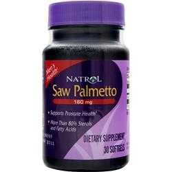 NATROL Saw Palmetto (160mg) 30 sgels