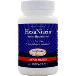 Enzymatic Therapy HexaNiacin 60 caps