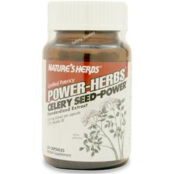 NATURE'S HERBS Celery Seed - Power 60 caps
